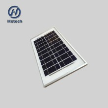 Factory direct sale 5w 12V High Efficiency Polycrystalline Solar Panel