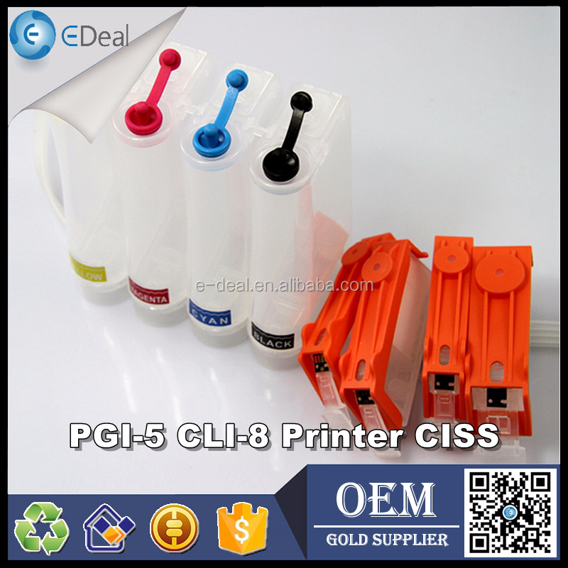 PGL-5 CLI-8 Inkjet CISS kit for Canon IX4000 IX5000 MP970 IP4300 continuous ink supply system