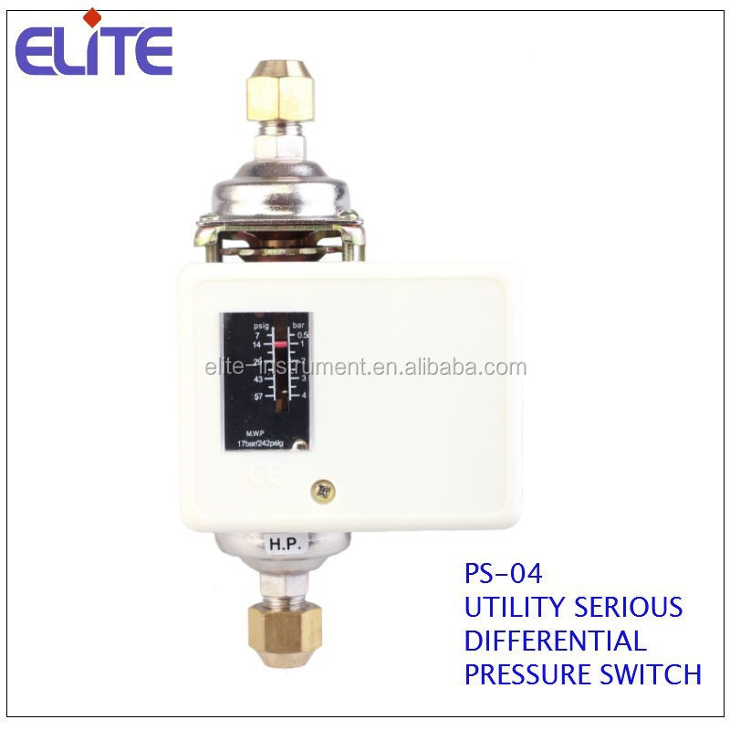 PS-04 UTILITY SERIES DIFFERENTIAL PRESSURE SWITCH