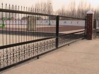 PVC fence sliding gate/ gates and fence design