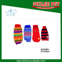 New arrival design colorful Pet Dog sweater for Christmas