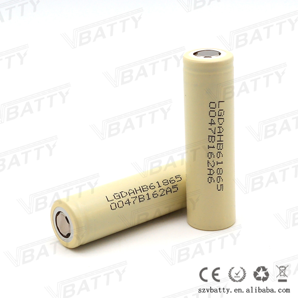 Original lgdahb61865 battery cells power tools 3.7v 1600mah LG HB6 18650 battery 30a