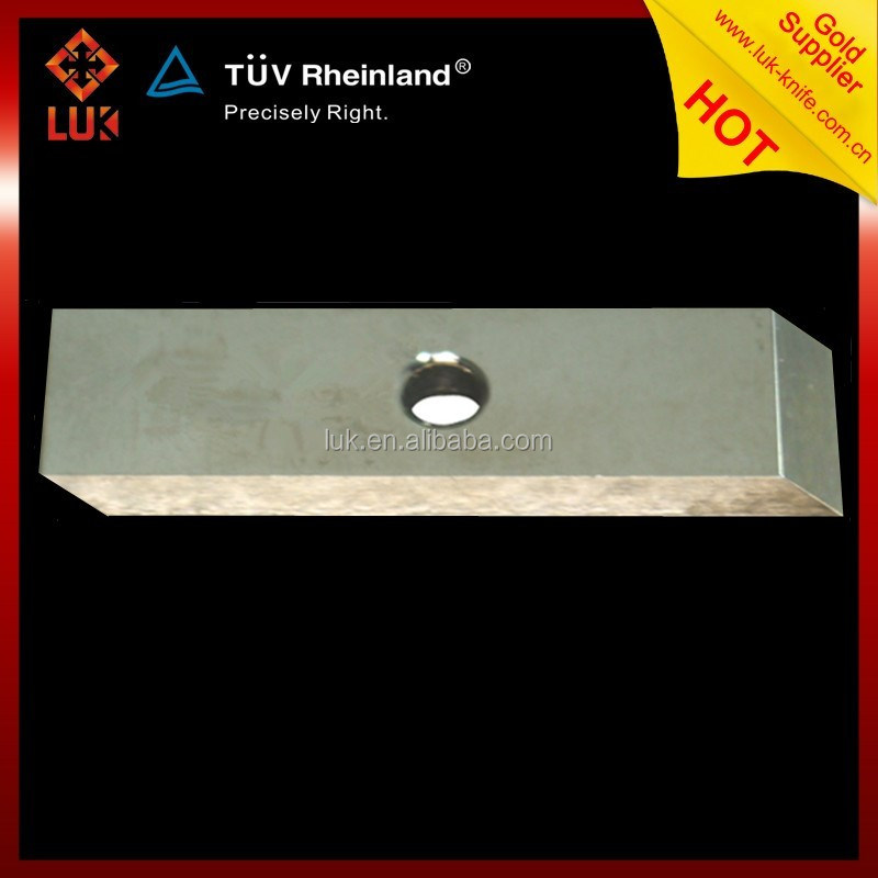 Customized ASP alloy steel Plastic recycling Pelletizing blades