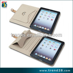 for apple ipad 2 3 4 flip case, for ipad 3 cases with standing