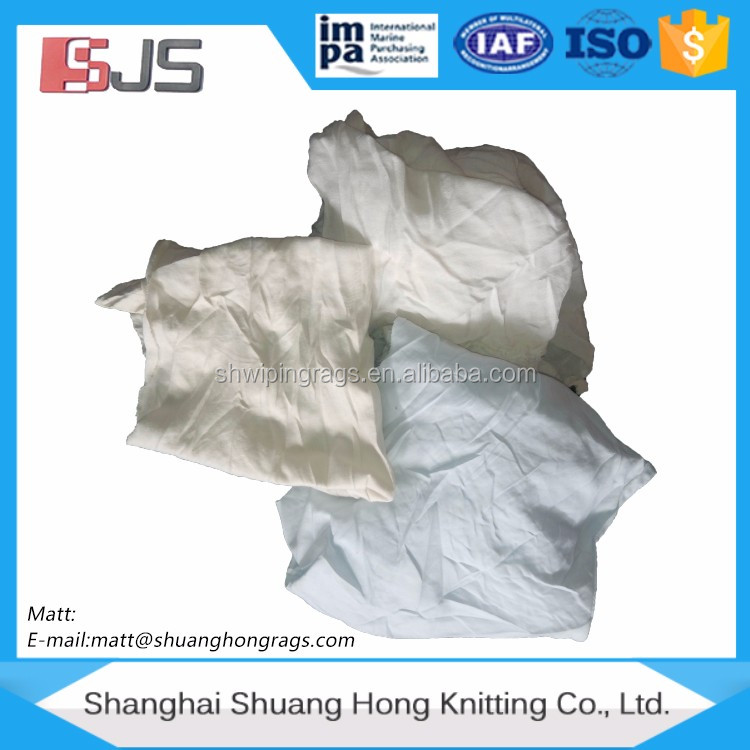 White cotton rag (USED) second hand clothes used clothing