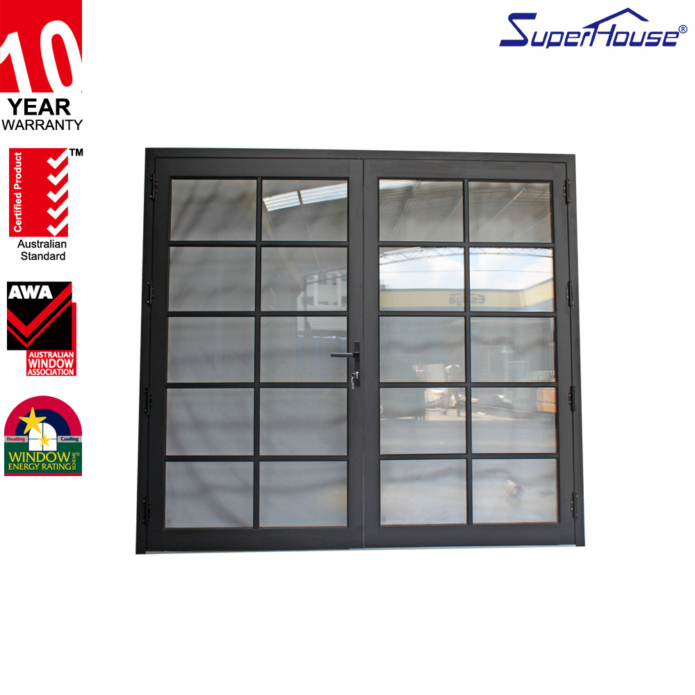 AS2047 aluminium windows and doors Luxury tempered safety glass window, grills design for sliding windows