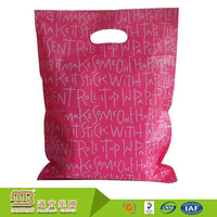 Design Your Own Style Logo Gravure Printed Biodegradable Heavy Duty Plastic PE Bag