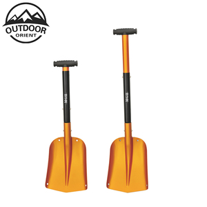 Aluminum Lightweight Utility Shovel Adjustable and Collapsible Winter Snow Shovels for Car/ Camping/ Garden