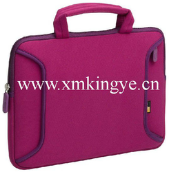 "Promotional customized printed bag neoprene 15.6"" inch laptop bag"