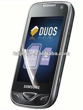 bubble free,Dustproof and waterproof,High quality LCD screen Protector/Guard/Film for Samsung-B7722-3G-dual-SIM-1