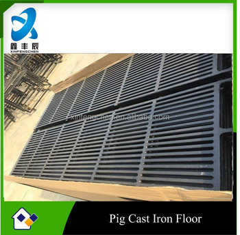 poultry equipment cast iron flooring