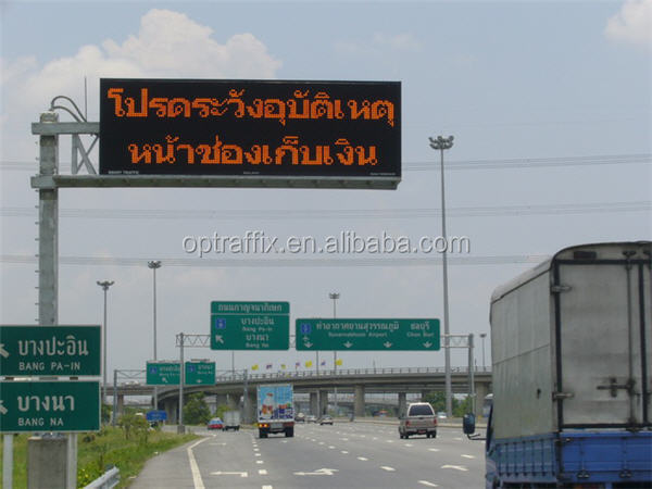 LED Traffic Display Screen Board Traffic Road Sign