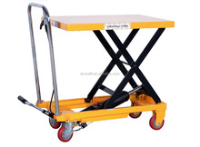 China 2017 NEW 150kgs Scissor Hand Lift Table