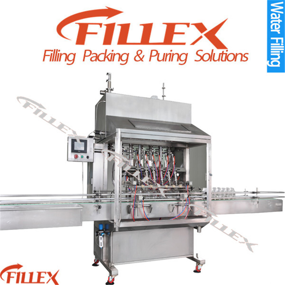 Automatic linear type 5 litres water oil filling machine for olive cooking sunflower oil in bottle barrel or jar can