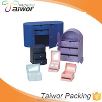 OEM draw box type girls jewelry box, unique jewelry gift boxes