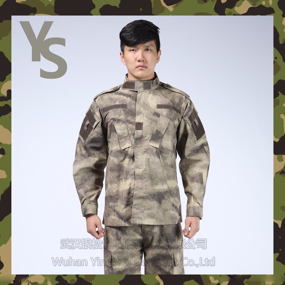 [Wuhan YinSong] Work Uniform AU Military Clothes Security Guards Suit
