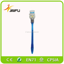 Festival gift cheap led light up flashing AS plastic pen
