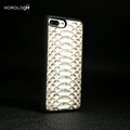 Genuine Python Snakeskin Leather Cell Phone Case for iphone 7 ,for iphone 6s plus,for iphone 5s SE