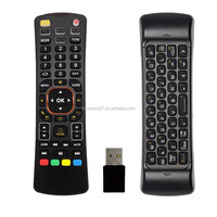 smart 2.4g hz remote control for universal remote media player with keyboard