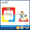 2015 hot sale baby drawing mat water pen drawing mat