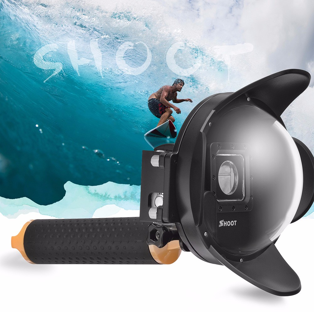 Factory price 4 inch Diving Dome Port for Gopro go pro Hero 4 3+ Camera with Float Bobber