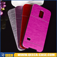 Hard brushed metal aluminum case for samsung galaxy s5 mini