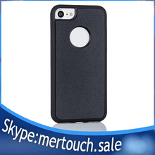 For iPhone 7 Nano Anti Gravity Case With Anti-dust Cover , Nanometer material sticky , With Hole Anti-Gravity Case