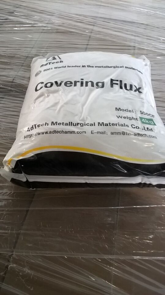 magnesium covering flux