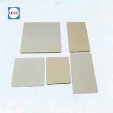 High density price 99 alumina ceramic substrate insulator