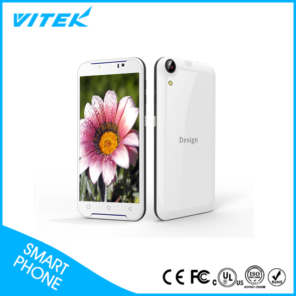 High Quanlity 3G 5.5 inch Big Touch Screen Mobile Phone , QHD IPS LCD Slim Smartphone, Android 5.1 1GB+8GB Color Phone