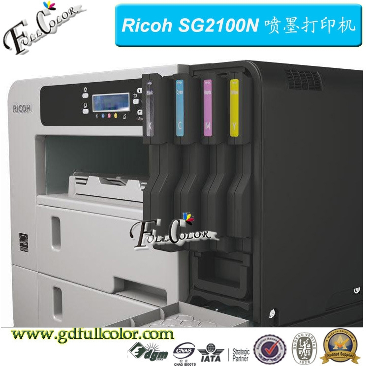 Original Ricoh Aficio SG2100N Inkjet Printer A4 for Sublimation Printing
