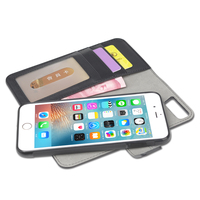 3 Card Slots Magnet Wallets Case for iPhone 7 Plus