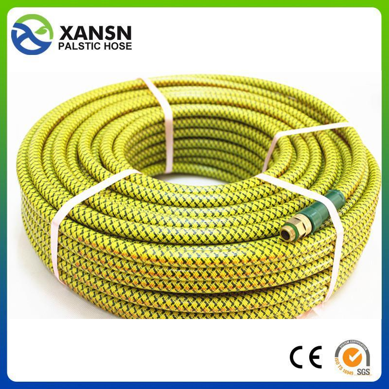 raw material best price and high quality fiber braided pvc hose made in china