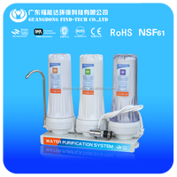 mineral water plant three stage washing machine water filter