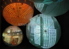 Inflatable projection balloon,sphere ball,mega ball