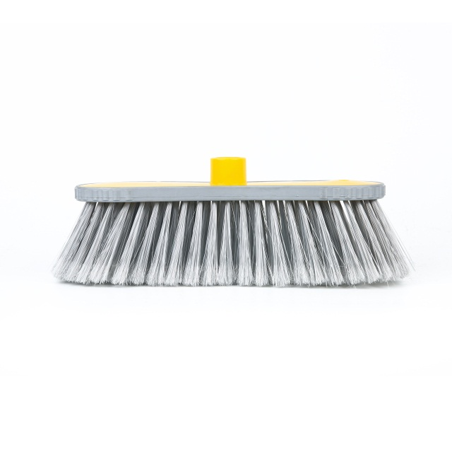 can do different color bristle hot sale broom for workshop floor cleaning equipment