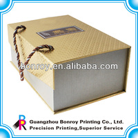 special paper cardboard box carry handle
