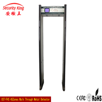 45 Zones Sensitivity Adjustable Metal Detector Archway For Apartment With LED Side Light Alarm XST-F45