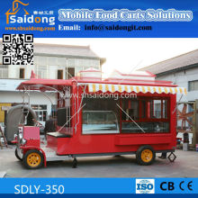 new style popcorn truck/mobile kitchen coffee van/food grill truck