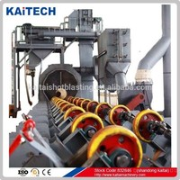 CE Standard Steel Pipe Shot Blasting Machine for Outer Wall Shot Blasting of Pipes