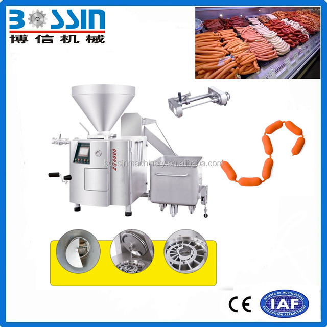 High ratio reliable best effective sausage stuffing vacuum mixing machine