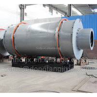 LPG coal or natural gas driven rotary drum drying machine for sawdust