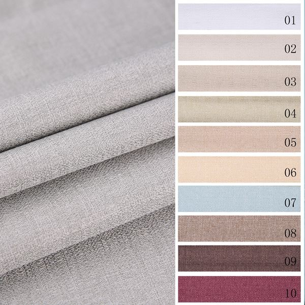 Eco-friendly plain and classical style blackout turkish curtain fabric