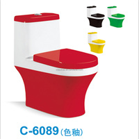 chinese S-trap eddy one piece bus toilet