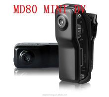 2016 hot selling world smallest sport mini DV MD80 very very small hidden camera
