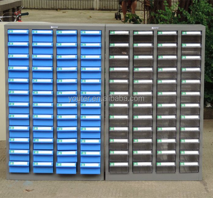 Plastic drawer storage cabinets