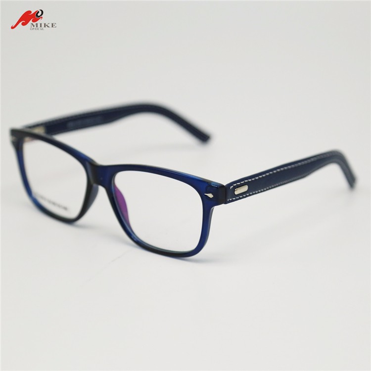 New design CP eyeglasses without nose pads/ eye glasses with silk cloth temple/ eyeglasses parts