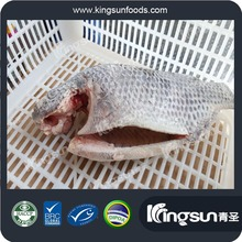 Wholesale good price frozen farm raised Tilapia gutted scaled gilled moon cut tilapia fish