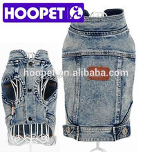 Jeans dog vest pet dog clothes wholesale clothing for dog