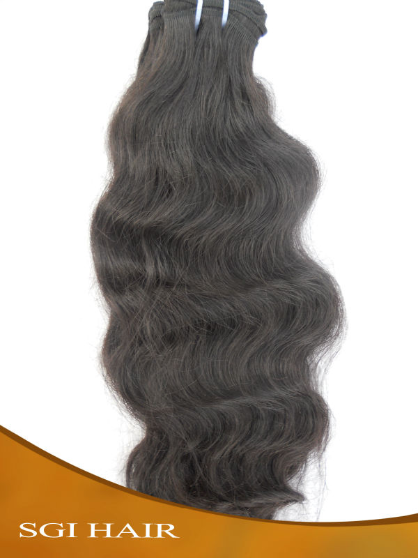 Full Cuticle Self-confident gorgeous lady indian Virgin remy hair